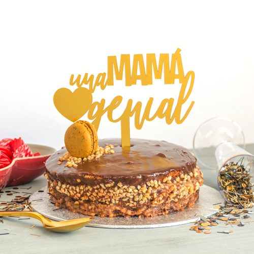 Mamá Día De GenialLovely Toppers Topper Especial La Madre Una 8vn0wOymN